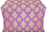 Pavlov Bouquet metallic brocade (violet/gold)