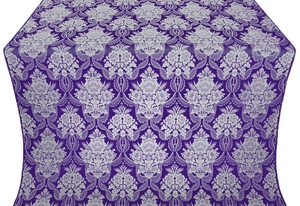 Pavlov Bouquet metallic brocade (violet/silver)