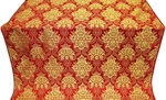 Pavlov Bouquet metallic brocade (red/gold)