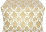 Pavlov Bouquet metallic brocade (white/gold)