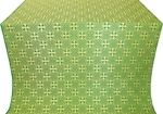 Stone Flower silk (rayon brocade) (green/gold)