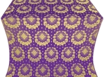 Nativity Star metallic brocade (violet/gold)