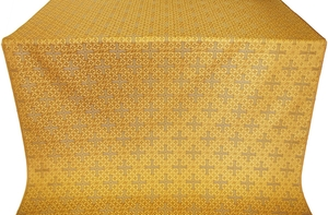 Jerusalem Cross metallic brocade (yellow/gold)