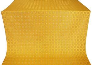 Snowflake silk (rayon brocade) (yellow/gold)