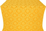 Ajur Cross metallic brocade (yellow/gold)