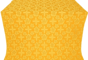 Ajur Cross silk (rayon brocade) (yellow/gold)