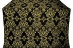 Sloutsk metallic brocade (black/gold)
