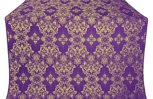 Sloutsk metallic brocade (violet/gold)