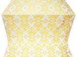 Sloutsk metallic brocade (white/gold)
