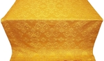 Sloutsk silk (rayon brocade) (yellow/gold)