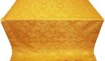 Sloutsk silk (rayon brocade) (yellow/gold)