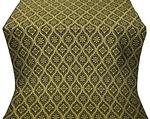 Byzantine metallic brocade (black/gold)