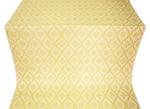 Byzantine metallic brocade (white/gold)
