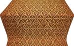 Byzantine silk (rayon brocade) (claret/gold)