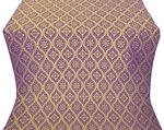 Byzantine silk (rayon brocade) (violet/gold)