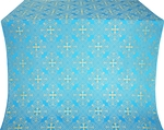Alania metallic brocade (blue/gold)