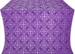 Alania silk (rayon brocade) (violet/silver)