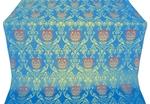 Pavlov Rose metallic brocade (blue/gold)