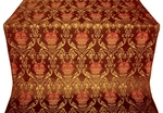 Pavlov Rose metallic brocade (claret/gold)
