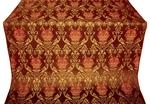 Pavlov Rose metallic brocade (claret/gold)