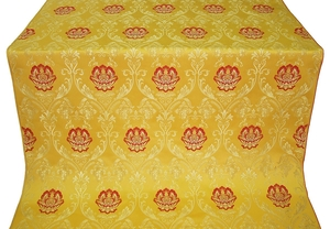 Pavlov Rose metallic brocade (yellow/gold)