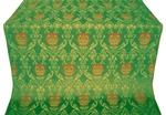 Pavlov Rose metallic brocade (green/gold)