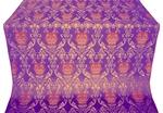 Pavlov Rose metallic brocade (violet/gold)