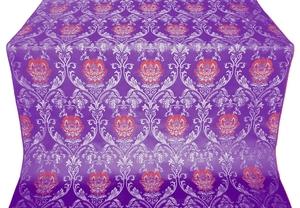 Pavlov Rose metallic brocade (violet/silver)