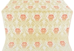 Pavlov Rose metallic brocade (white/gold)