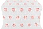 Pavlov Rose silk (rayon brocade) (white/silver)