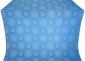 Vilno metallic brocade (blue/silver)