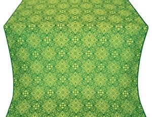 Vilno metallic brocade (green/gold)