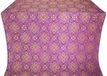 Vilno metallic brocade (violet/gold)