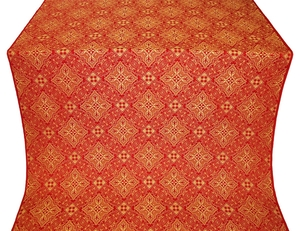 Vilno metallic brocade (red/gold)