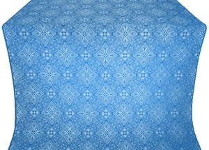Vilno silk (rayon brocade) (blue/silver)
