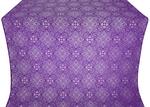 Vilno silk (rayon brocade) (violet/silver)