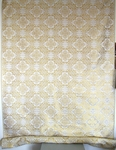 Altaj silk (rayon brocade) (white/gold)