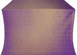 Elets silk (rayon brocade) (violet/gold)