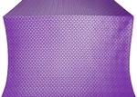 Elets silk (rayon brocade) (violet/silver)