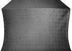 Elets silk (rayon brocade) (black/silver)