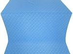 Omsk silk (rayon brocade) (blue/silver)