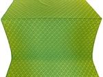Omsk silk (rayon brocade) (green/gold)