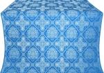 Donetsk silk (rayon brocade) (blue/silver)