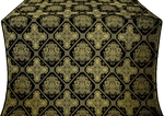 Donetsk silk (rayon brocade) (black/gold)