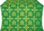 Donetsk silk (rayon brocade) (green/gold)