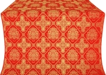 Donetsk silk (rayon brocade) (red/gold)