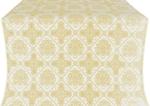 Donetsk silk (rayon brocade) (white/gold)