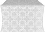 Donetsk silk (rayon brocade) (white/silver)