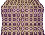 Czar's metallic brocade (violet/gold)