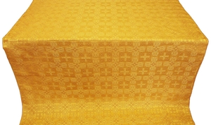Czar's silk (rayon brocade) (yellow/gold)
